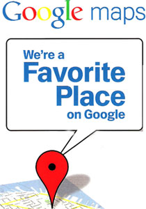 Favorite Place on Google